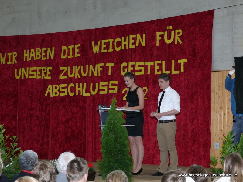 Abschluss 2012 - Boeselager Realschule Ahrweiler