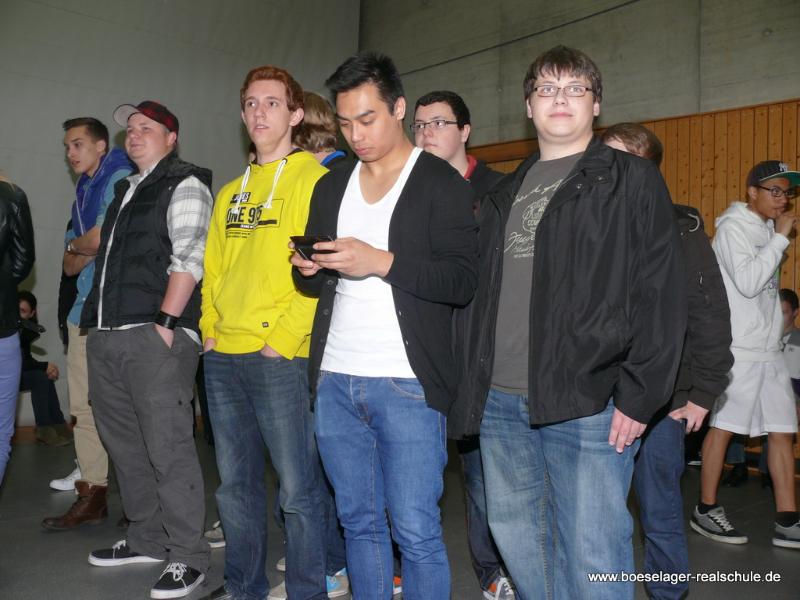 Die 10b des Abschlusses 2011
