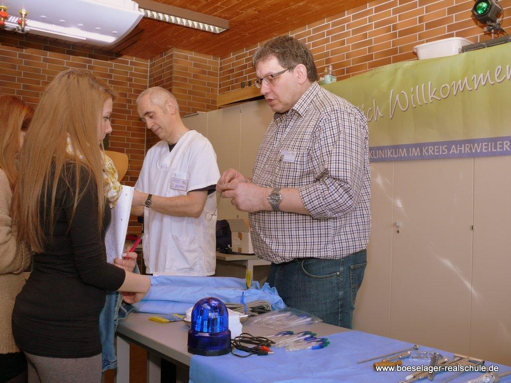 Das Marienklinikum - größter Arbeitgeber im Kreis Ahrweiler - stellte sich  vor
