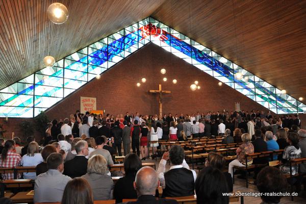 Abschlussgottesdienst 2011