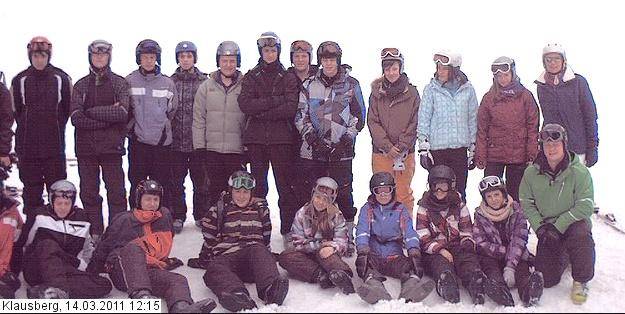Die Gruppe des WpF-Sport im Ahrntal