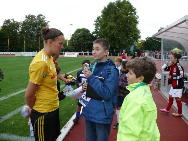 Interview mit der SC 07-Torhüterin Almuth Schult