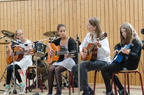 Ensemble der Gitarren-AG