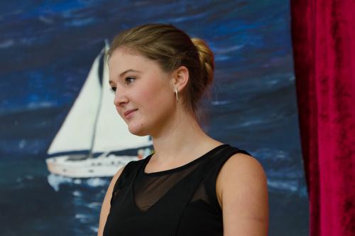 Erhielt einen Preis für soziales Engagement - Ida Olef