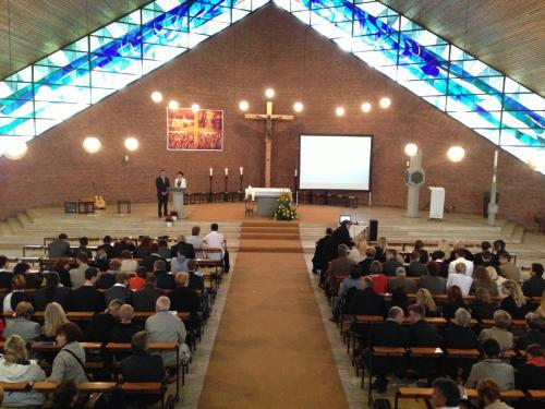 Organisiert wurde der Gottesdienst von der Religionslehrerin Brigitte Karpstein