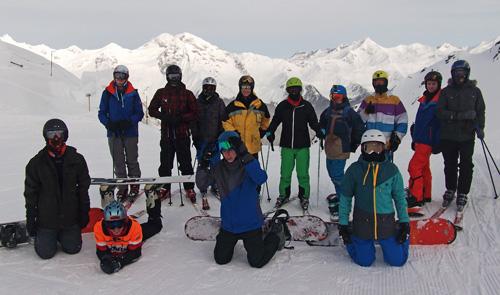 Skivergnügen in den Bergen Südtirols