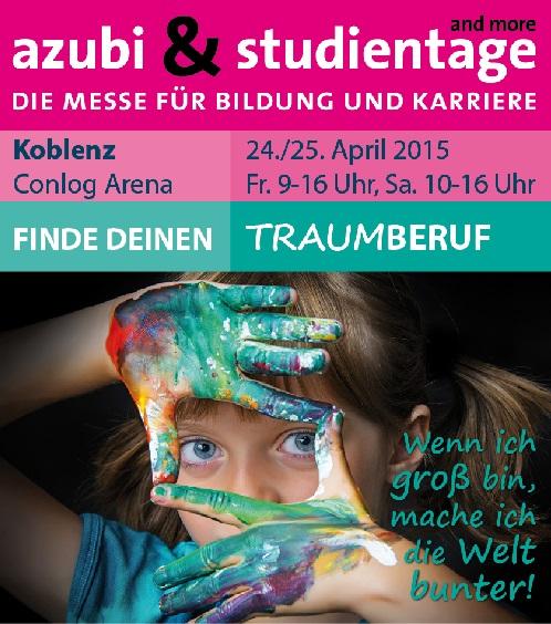 """Berufsinfomesse """"azubi & studientage"""" in Koblenz"""