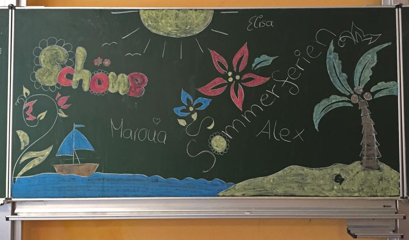 Wir wünschen allen schöne und erholsame Sommerferien!