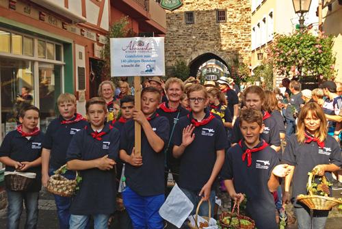 Winzerfestumzug in Ahrweiler 2014