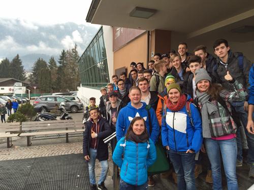 """Ausflug ins tolle Schwimmbad """"Cron4"""" nach Bruneck"""