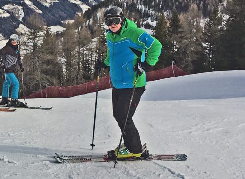 Bereits zum 10. Mal mit einer Schülergruppe im Ahrntal - Ski- und Sportlehrer Markus Lochner