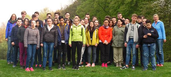 Französische Schüler 2016 zu Gast bei uns