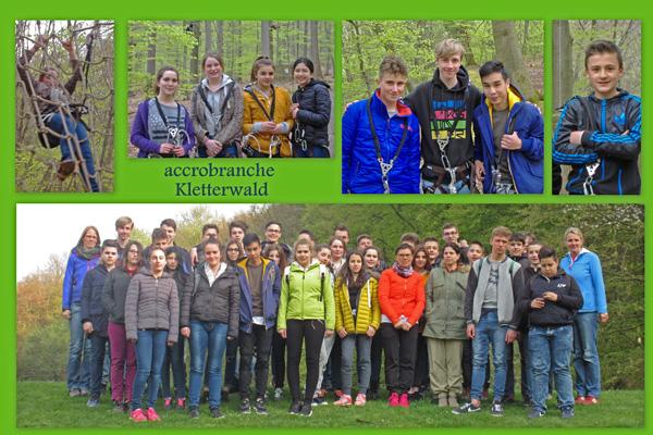 """Besuch des Kletterparks """"Waldabenteuer"""" in Ahrweiler"""