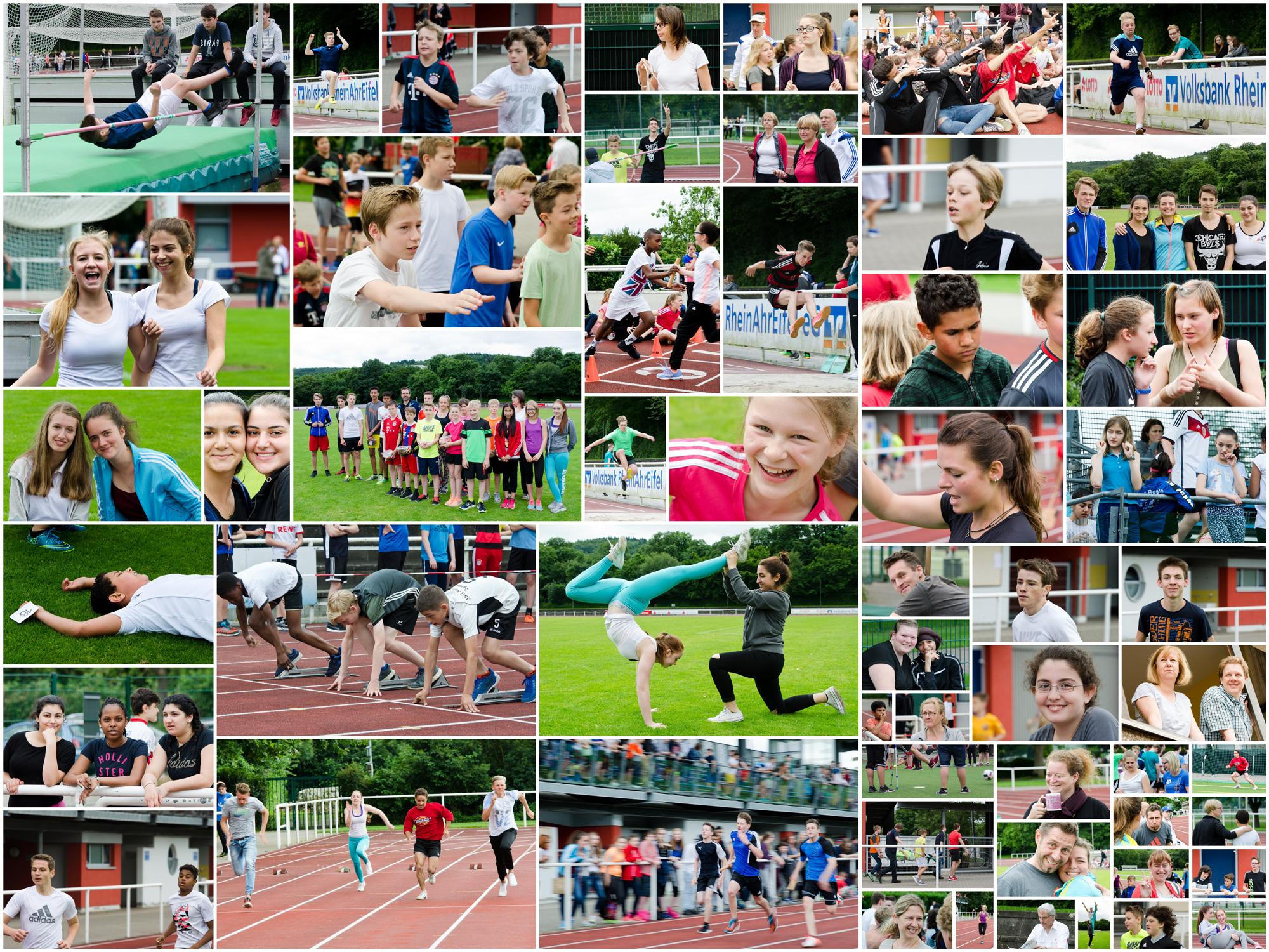 Bundesjugendspiele der Boeselager-Realschule Ahrweiler 2016