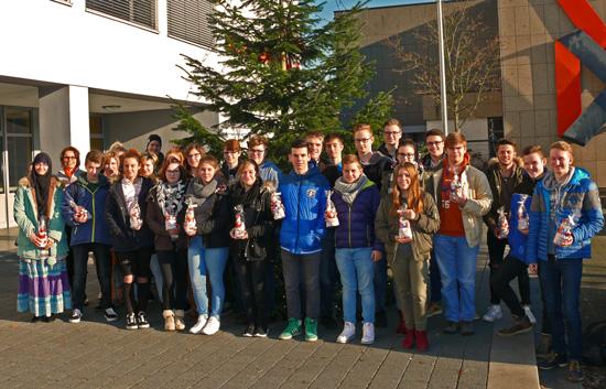 Nikolaus-Überraschung für freiwillige Helfer der Nachmittagsbetreuung und die Schulsanitäter