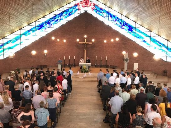 Abschlussgottesdienst in St. Pius