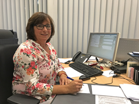 Wir begrüßen Christiane Ockenfels als neue zusätzliche Schulsekretärin an unserer Schule!