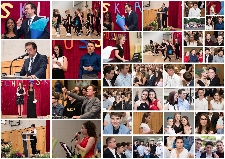 Impressionen von der Abschlussfeier 2018 - zum Vergrößern anklicken...