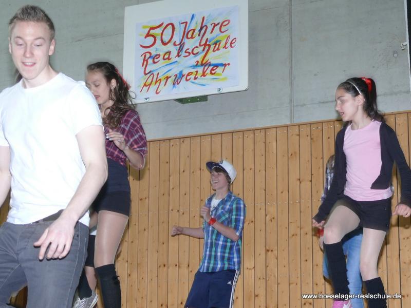 "Auftritt des Tanzprojektes ""Freude am Tanzen"""