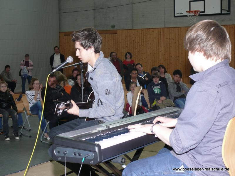 Auftritt des des Band-Projektes