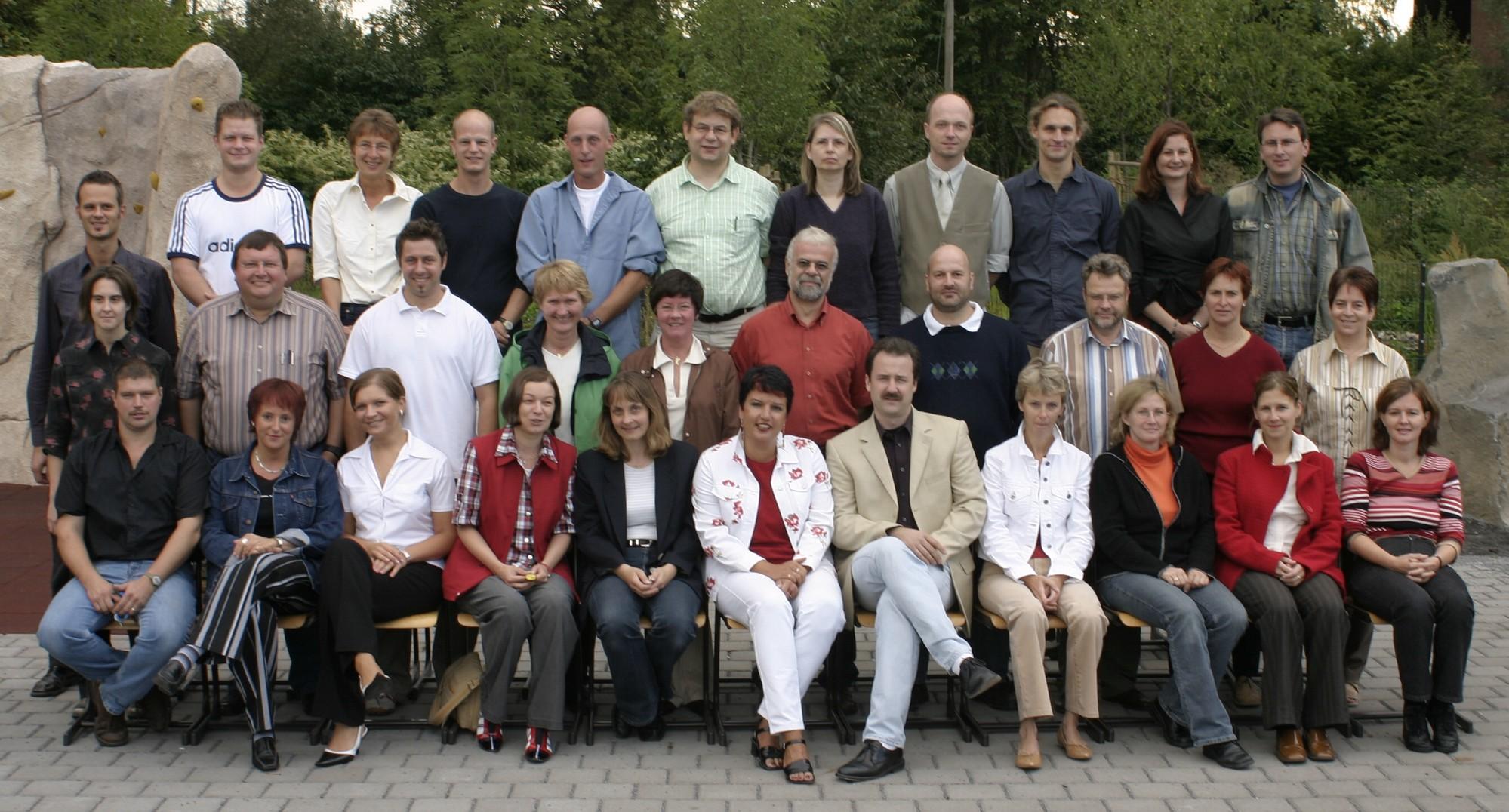 Das Lehrerkollegium 2004