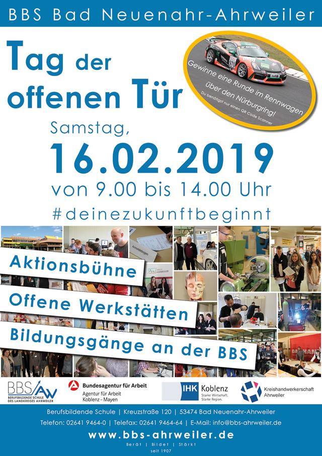 Die BBS und ihre dualen Partner informieren am Samstag, 16. Februar, zum 23. Mal über Chancen und Möglichkeiten beruflicher Bildung im Landkreis Ahrweiler