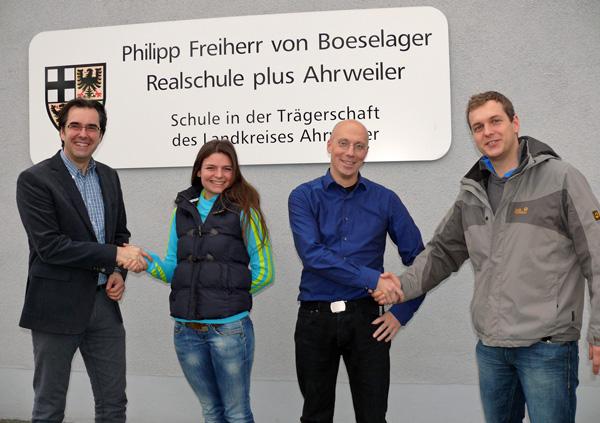 Verstärkung für das Lehrerkollegium der Boeselager-Realschule