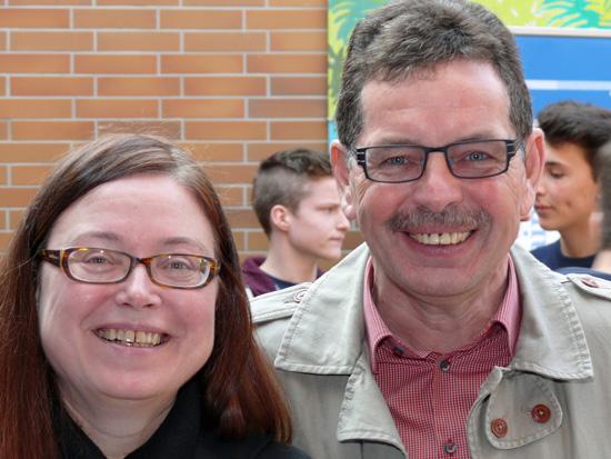 Claudia Wildermann und Winfried Ley vertraten die Handwerkskammer