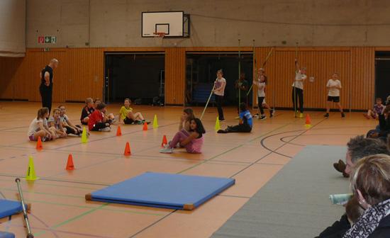 Spannung und Action wurden in der Sporthalle der Boeselager-Realschule geboten