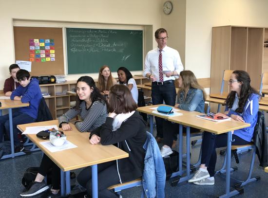 Roland Geisbüsch (Barmer) informierte über richtiges Auftreten im Vorstellungsgespräch
