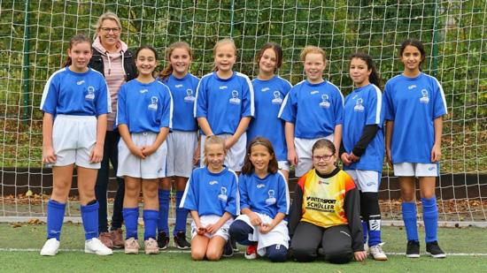 Mädchenmannschaft hat sich für den Regionalentscheid qualifiziert