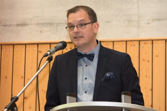 Timo Lichtenthäler bei seiner Ansprache