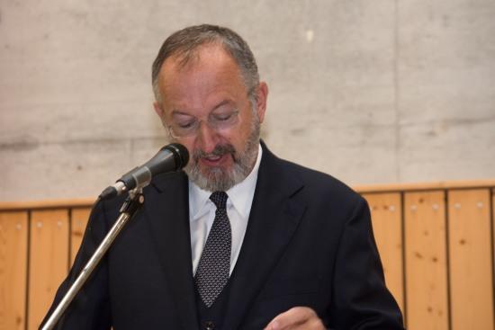 Ansprache durch Ralf Groß von der ADD Koblenz