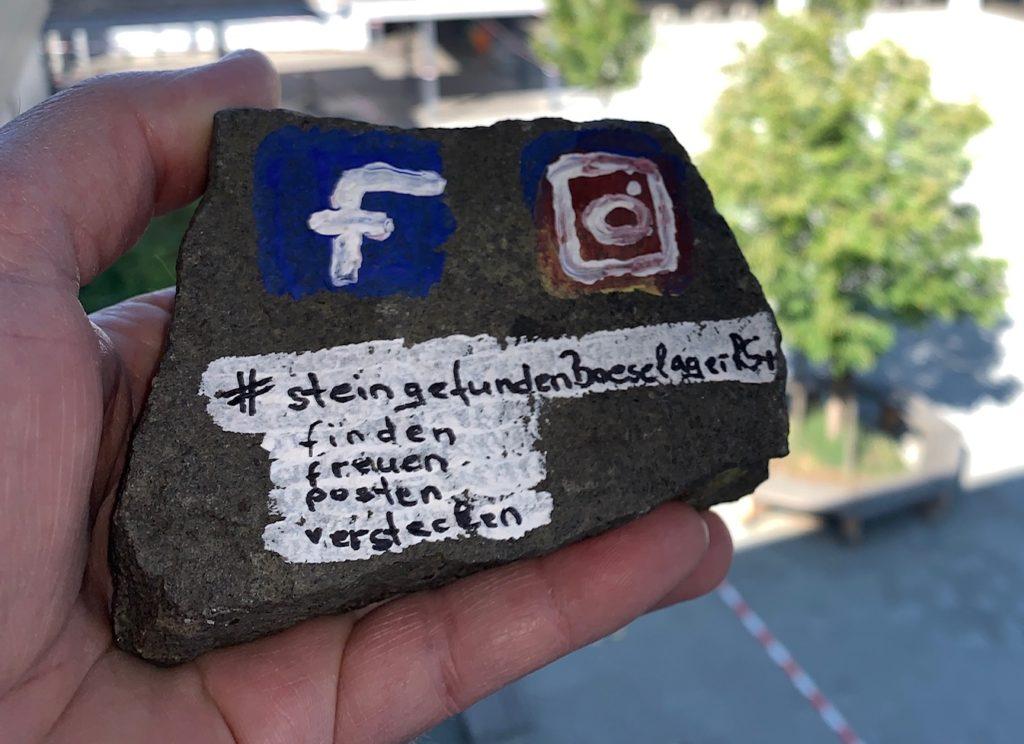#steingefundenBoeselagerRS+