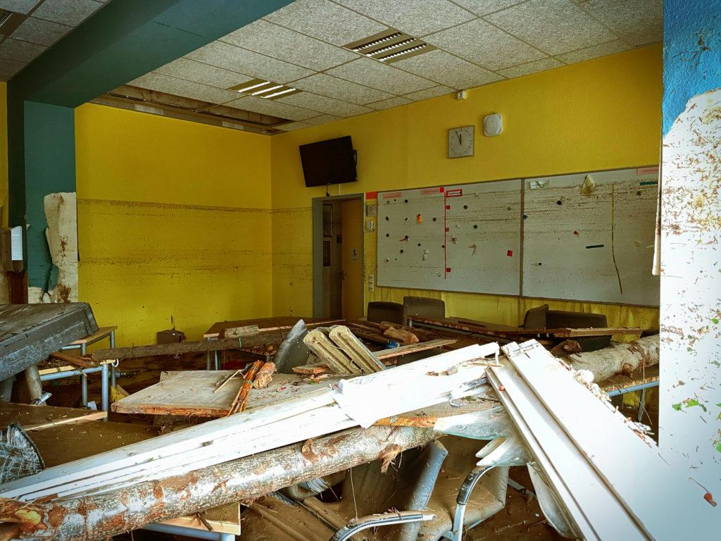 Blick ins Lehrerzimmer der Boeselager-Realschule Ahrweiler - © Ralf Breuer