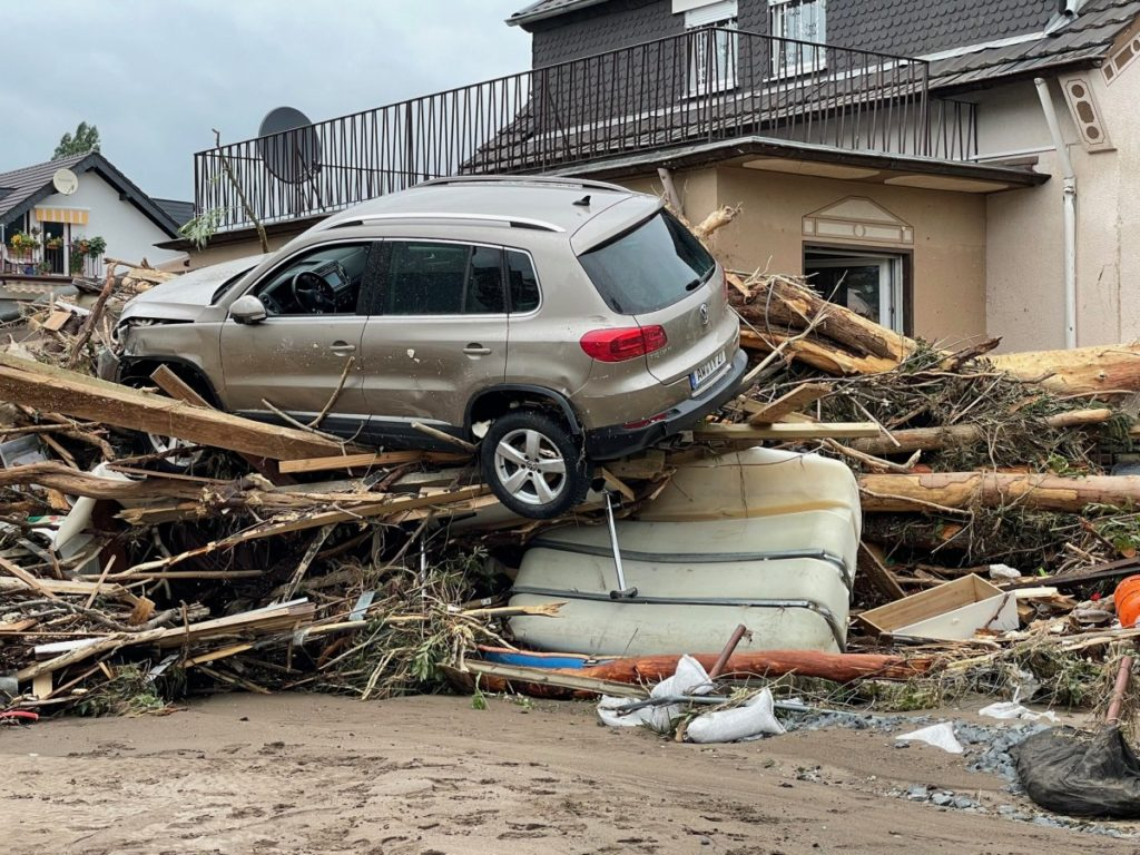 Vielen Familien verloren durch die Flutkatastrophe alles und stehen jetzt vor dem Nichts – © Ralf Breuer