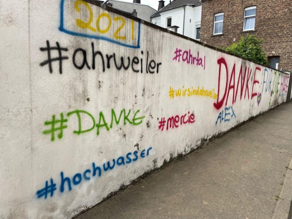 "Ahrweiler sagt ""Danke!"" – © Ralf Breuer"